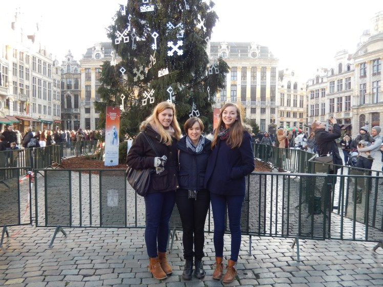 Christmas Tree in the Grand Place